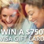 Win A $750 Gift Card
